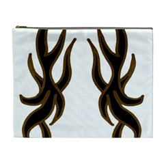 Dancing Fire Cosmetic Bag (xl) by coolcow
