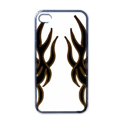 Dancing Fire Apple Iphone 4 Case (black) by coolcow