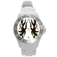 Dancing Fire Plastic Sport Watch (large)