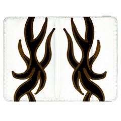 Dancing Fire Samsung Galaxy Tab 7  P1000 Flip Case by coolcow