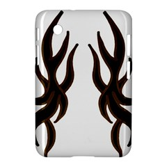 Dancing Fire Samsung Galaxy Tab 2 (7 ) P3100 Hardshell Case  by coolcow