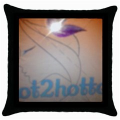 Img 20140722 173225 Black Throw Pillow Case