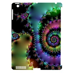 Satin Rainbow, Spiral Curves Through The Cosmos Apple Ipad 3/4 Hardshell Case (compatible With Smart Cover) by DianeClancy
