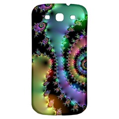 Satin Rainbow, Spiral Curves Through The Cosmos Samsung Galaxy S3 S Iii Classic Hardshell Back Case by DianeClancy