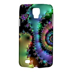 Satin Rainbow, Spiral Curves Through The Cosmos Samsung Galaxy S4 Active (i9295) Hardshell Case by DianeClancy