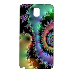 Satin Rainbow, Spiral Curves Through The Cosmos Samsung Galaxy Note 3 N9005 Hardshell Back Case by DianeClancy