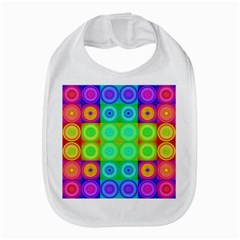 Rainbow Circles Bib by SaraThePixelPixie