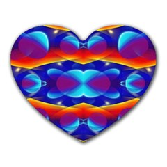 Planet Something Mouse Pad (heart) by SaraThePixelPixie