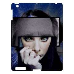 Fibro Brain Apple Ipad 3/4 Hardshell Case by FunWithFibro