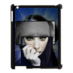 Fibro Brain Apple Ipad 3/4 Case (black) by FunWithFibro