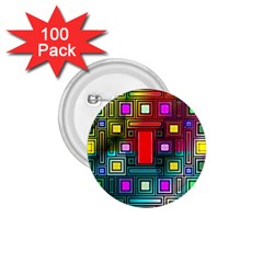 Abstract Modern 1 75  Button (100 Pack) by StuffOrSomething