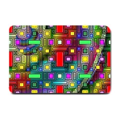 Abstract Modern Small Door Mat by StuffOrSomething