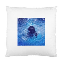 French Bulldog Swimming Cushion Case (two Sided)  by StuffOrSomething