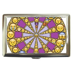 Circle Of Emotions Cigarette Money Case by FunWithFibro