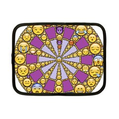 Circle Of Emotions Netbook Sleeve (small) by FunWithFibro