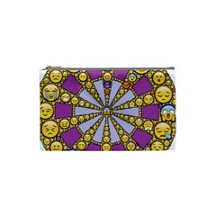 Circle Of Emotions Cosmetic Bag (small) by FunWithFibro