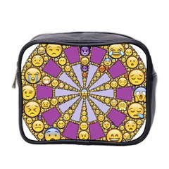 Circle Of Emotions Mini Travel Toiletry Bag (two Sides) by FunWithFibro
