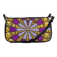 Circle Of Emotions Evening Bag by FunWithFibro