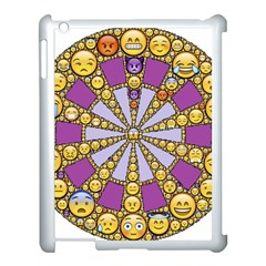 Circle Of Emotions Apple Ipad 3/4 Case (white) by FunWithFibro