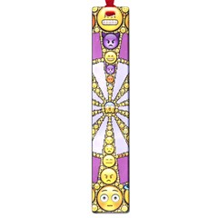 Circle Of Emotions Large Bookmark by FunWithFibro