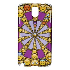 Circle Of Emotions Samsung Galaxy Note 3 N9005 Hardshell Case by FunWithFibro
