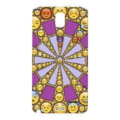 Circle Of Emotions Samsung Galaxy Note 3 N9005 Hardshell Back Case by FunWithFibro