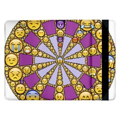 Circle Of Emotions Samsung Galaxy Tab Pro 12 2  Flip Case by FunWithFibro