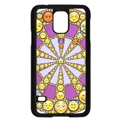 Circle Of Emotions Samsung Galaxy S5 Case (black) by FunWithFibro