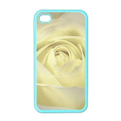 Cream Rose Apple Iphone 4 Case (color) by Colorfulart23
