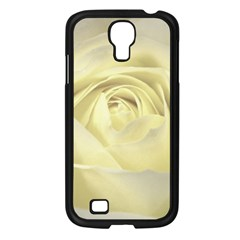 Cream Rose Samsung Galaxy S4 I9500/ I9505 Case (black) by Colorfulart23