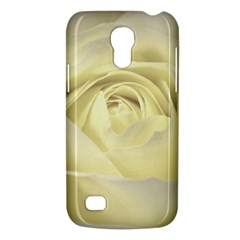Cream Rose Samsung Galaxy S4 Mini (gt I9190) Hardshell Case