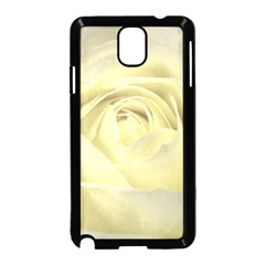 Cream Rose Samsung Galaxy Note 3 Neo Hardshell Case (black) by Colorfulart23