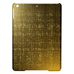 Gold Apple Ipad Air Hardshell Case by Colorfulart23