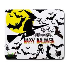 Happy Halloween Collage Large Mouse Pad (rectangle) by StuffOrSomething