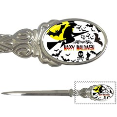 Happy Halloween Collage Letter Opener by StuffOrSomething
