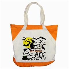 Happy Halloween Collage Accent Tote Bag by StuffOrSomething