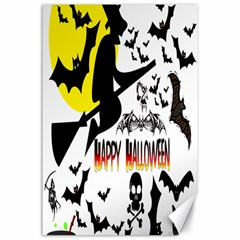 Happy Halloween Collage Canvas 24  X 36  (unframed) by StuffOrSomething