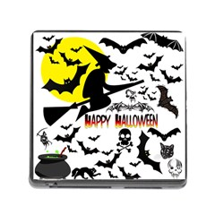 Happy Halloween Collage Memory Card Reader With Storage (square) by StuffOrSomething