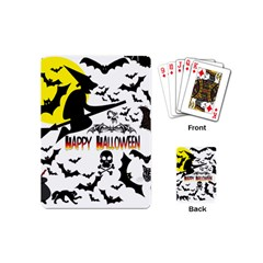 Happy Halloween Collage Playing Cards (mini) by StuffOrSomething