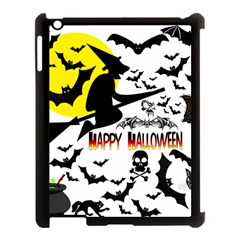 Happy Halloween Collage Apple Ipad 3/4 Case (black) by StuffOrSomething
