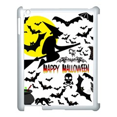 Happy Halloween Collage Apple Ipad 3/4 Case (white) by StuffOrSomething