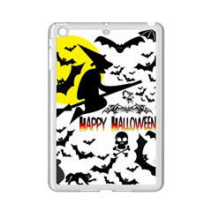 Happy Halloween Collage Apple Ipad Mini 2 Case (white) by StuffOrSomething