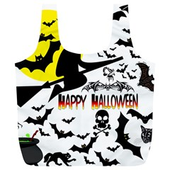 Happy Halloween Collage Reusable Bag (xl) by StuffOrSomething
