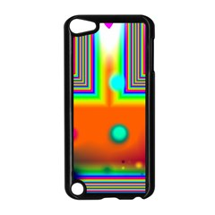 Crossroads Of Awakening, Abstract Rainbow Doorway  Apple Ipod Touch 5 Case (black) by DianeClancy