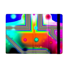 Crossroads Of Awakening, Abstract Rainbow Doorway  Apple Ipad Mini 2 Flip Case by DianeClancy