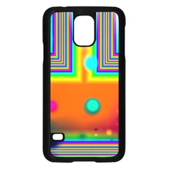 Crossroads Of Awakening, Abstract Rainbow Doorway  Samsung Galaxy S5 Case (black) by DianeClancy