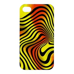 Colored Zebra Apple Iphone 4/4s Premium Hardshell Case by Colorfulart23