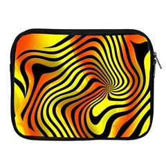 Colored Zebra Apple Ipad Zippered Sleeve by Colorfulart23