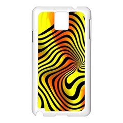 Colored Zebra Samsung Galaxy Note 3 N9005 Case (white) by Colorfulart23