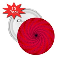 Fracrtal 2 25  Button (10 Pack)